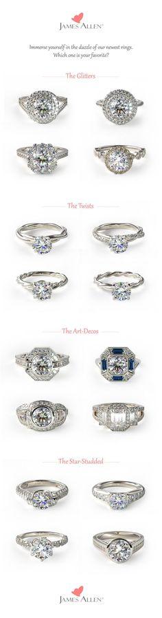 Halo Engagement Rings l Vintage Engagement Rings l Art-deco Engagement Rings l Rope Twist Engagement Rings l Proposal Ideas l Trending Engagement Rings l James Allen