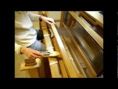 Detailed descriptions of the entire process of weaving on a floor loom by veteran weaver Elizabeth Wagner from selecting yarn to making the calculations for ...