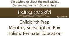 Pregnancy Subscription Box - Holistic Crafts with Complete Perinatal Education