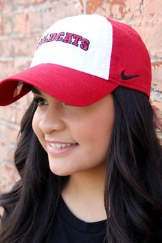 Central Washington University Nike Wildcats Hat found here at the Wildcat Shop! Taken By: Kailin Chase