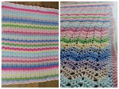 Haken en meer: Gehaakte deken - Ajour Ribble