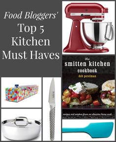 10 Food Bloggers' Top 5 Kitchen Must Haves from Neighbor Food