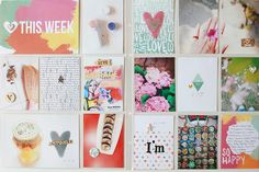 PHOTO + PAPER + STAMP = CRAFTTIME!!!: PROJECTLIFE - APRIL(3) , COLORFUL APRIL...