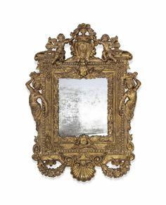A SPANISH GILTWOOD FRAME - SECOND HALF 17TH CENTURY