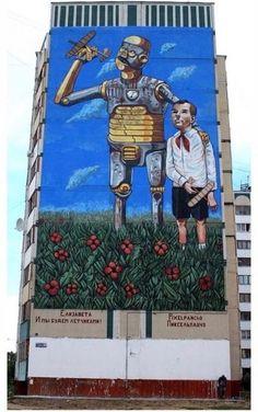 Street art | Mural by Pixel Pancho