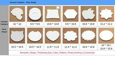 Customized Blank Hexagon Ceramic Coasters With Cork Back Wholesale - Buy Hexagon Coasters,Hexagon Cork Coasters,Cork Back Coaster Product on Alibaba.com Ceramic Coasters, Cork Coasters, White Box, Color Box, Ceramic Design, Unique Colors, Decorative Accessories, Custom Design, Shapes