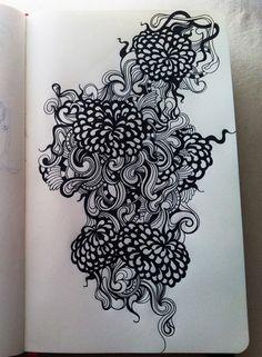Beautiful sharpie doodles!