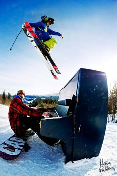 freestyle ski grab over a piano. Pretty awesome and a great action shot by - Mattias Fredriksson. Source: http://www.mattiasfredriksson.com/photos/skiing/freestyle_skiing