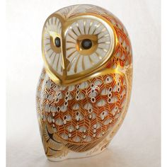 Royal Crown Derby, Barn Owl paperweight