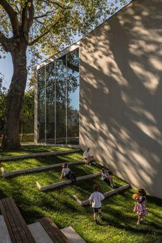 JIGSAW | German School in Porto, Portugal © Fernando Guerra, FG+SG Architectural Photography