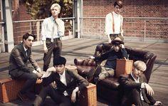 EXO - MCM Collaboration Photoshoot