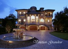 Beautiful Luxury Home Dream House Floor Plans Designs in American and European period Styles- Traditional Great Gatsby Mansion Castle and Villa Florida Architect for Luxury Homes Beach Waterfront Homes