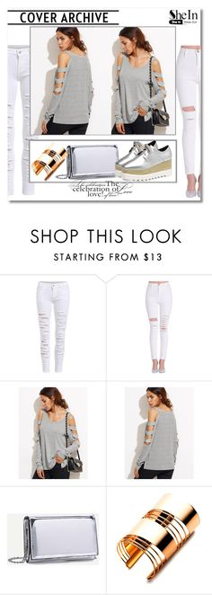"""""""SheIn 003"""" by silvijo ❤ liked on Polyvore featuring WithChic"""