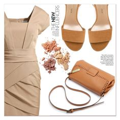 """""""Beige Motion"""" by lucky-1990 ❤ liked on Polyvore featuring Stuart Weitzman"""