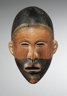 Masque, Yombe ou Vili, Kongo, République Démocratique du Congo.