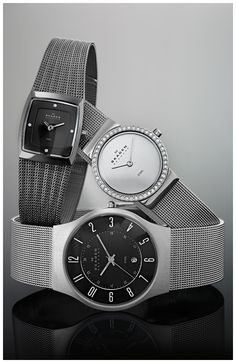 Keep up with the times with these amazing watches from the Modern Diva collection by American Swiss. Amazing Watches, Skagen, Modern Design, Diva, Latest Trends, American, Times, Accessories, Collection