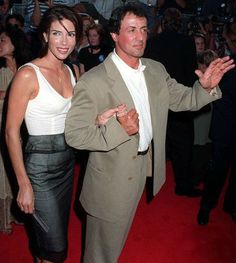 Jennifer Flavin with husband Sylvester Stallone Jennifer Flavin, Burt Young, American Gladiators, Janice Dickinson, Angie Everhart, Supportive Husband, Kathy Griffin, Star Wars, My First Crush