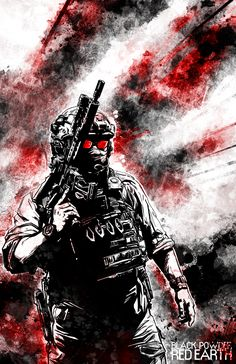Become a patron of Black Powder Wallpaper Gamer, Graffiti Wallpaper, Military Drawings, Military Tattoos, Military Gear, Military Weapons, Fire Image, Future Soldier, Military Pictures