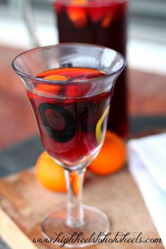 Easy Fruity Sangria