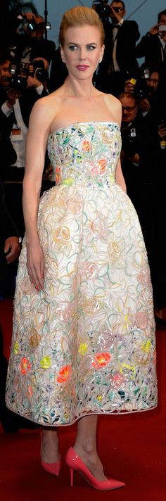 Nicole Kidman: Dress – Christian Dior  Shoes – Jimmy Choo