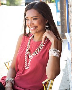 #Silpada Mixed Metal and Pearl: Girly Glam #WomensFashion