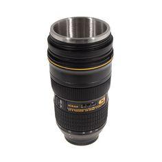 Nikon 24-70mm Thermos Lens Mug- for dad