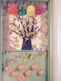 Door decoration in an infant program