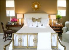 mismatched traditional nightstands desk and dresser used as night stands add accent chairs to