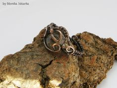 Wire wrapped ring with smoky quartz by mea00 on deviantART