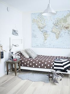 Carte - how cute for a teenage boy's room