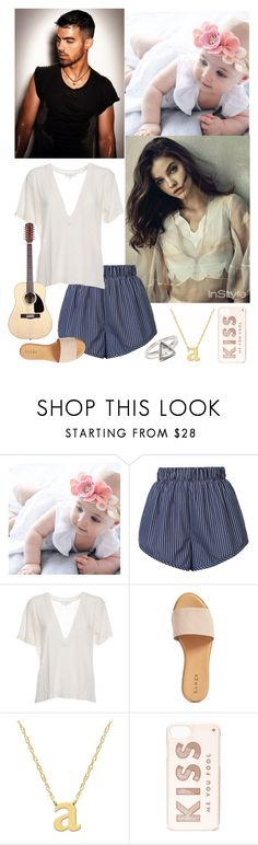 """""""OOTD // Playing my guitar and watching Nathan's daughter- Alex"""" by loveemestill ❤ liked on Polyvore featuring STELLA McCARTNEY, IRO, Hinge, Jane Basch and Kate Spade"""