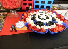 Superheroes Birthday Party Ideas | Photo 7 of 11 | Catch My Party#_a5y_p=2317507#_a5y_p=2317507