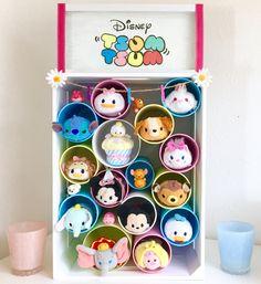 How To Tsum Tsum Hotel! DIY Disney Decor Display + Tsum Tsum Collection
