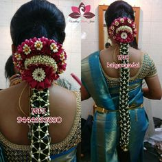 To get one for yourself or for your friends and relatives for their wedding kindly contact 8779268166 . South Indian Bride Hairstyle, Indian Wedding Hairstyles, Tamil Wedding, Wedding Sutra, Cradle Ceremony, Silk Saree Blouse Designs, Mehndi Images, Side Hairstyles, Asian Bride