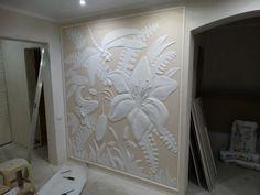 3d Wall Decor, Mural Wall Art, Ceiling Decor, Carved Wood Wall Art, Clay Wall Art, 3d Wanddekor, Asian Paints, Plaster Art, Beauty Salon Decor