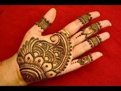 Easy Arabic Mehndi Henna Designs For Hands Henna Hand Designs, Eid Mehndi Designs, Mehndi Designs Finger, Mehandi Design For Hand, Palm Mehndi Design, Simple Arabic Mehndi Designs, Mehndi Designs For Beginners, Mehndi Design Pictures, Mehndi Designs For Fingers