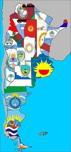 Banderas provinciales, Argentina