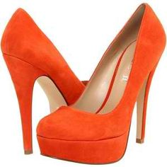 """Orange stilettos =) julia's stilettos?  """"Without warning, Gabriel lifted her, pressing her against the cold wall. His lips on her neck, he pushed their hips closer. The long, thin heels of Julia's tangerine stilettos caught the curves of his ass. He fixed her with wild, blue eyes. """"I want you. Right now.""""  Excerpt From: Reynard, Sylvain. """"Gabriel's Rapture."""" Omnific Publishing, 2012-01-01T00:00:00+00:00. iBooks.  This material may be protected by copyright."""