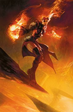 Chandra, the Firebrand i should just do this lol. i know nothing about majic except for Chandra, and i love her