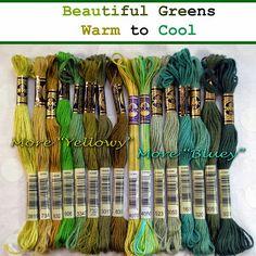 Acqua e bosco fiberluscious: Embroidery Floss Basics Dmc Embroidery Floss, Types Of Embroidery, Embroidery Patterns, Cross Stitch Thread, Cross Stitch Embroidery, Cross Stitch Patterns, Fil Dmc, Yarn Bracelets, Ribbon Embroidery Tutorial