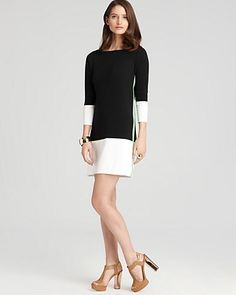 Magaschoni Color Block Dress - Bloomingdale's Exclusive | Bloomingdale's