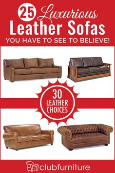 off of July sale going on now! Free in home delivery. Made in the U. Sink into our sumptuous leather sofas and immerse yourself in a newly discovered realm of comfort, quality and livability. Leather Furniture, Leather Sofas, Home Furniture, Club Furniture, Rustic Couch, Rustic Farmhouse Decor, Genuine Leather Sofa, Living Room Sofa, Quality Furniture