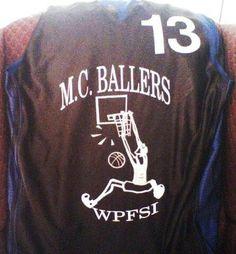Silk screen Basketball Jersey