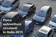 Dati e curiosità sul parco circolante vetture in Italia