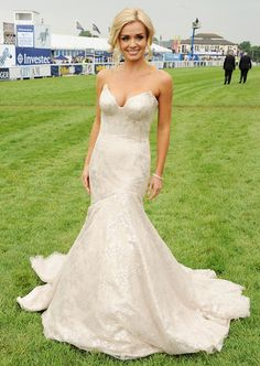 Elegant dress  Katherine Jenkins