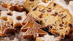 gingerbread, fruit cakes and other bisquits