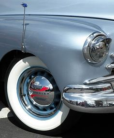 Chevy - Love the color, chrome, hubcaps and wide whites!!!