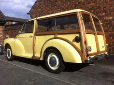 1969 Morris Minor 1000 Traveller | Ride, Sally, Ride ...