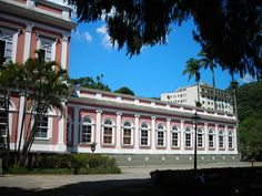 The summer Palace in Petropolis Brazil.