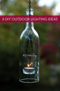 Roundup: 8 Easy Outdoor Lighting Projects � Curbly | DIY Design Community